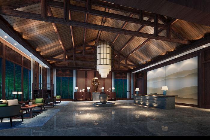 青城山酒店装饰效果图